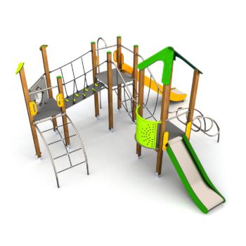 8020 Banzai houten speeltoestel (1)