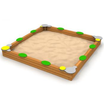 8030 Zandbak vierkant,