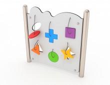 RVS-spelpaneel- vormen