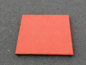 EPDM oranje rubbertegel