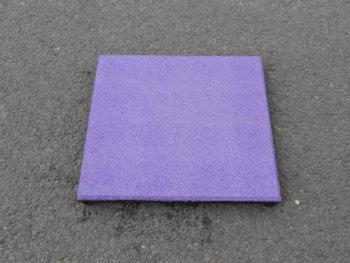 EPDM paarse rubbertegel