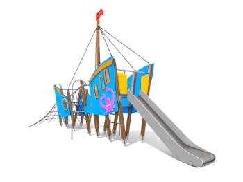 8027 Dolphin houten speelboot (2)
