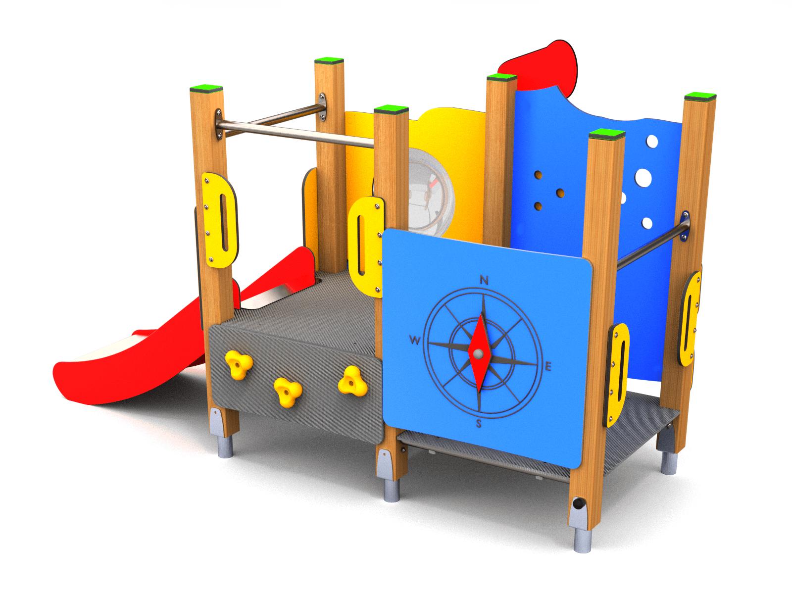 2044082206ce52 Waterloo houten speeltoestel - Arkema Speelvoorzieningen