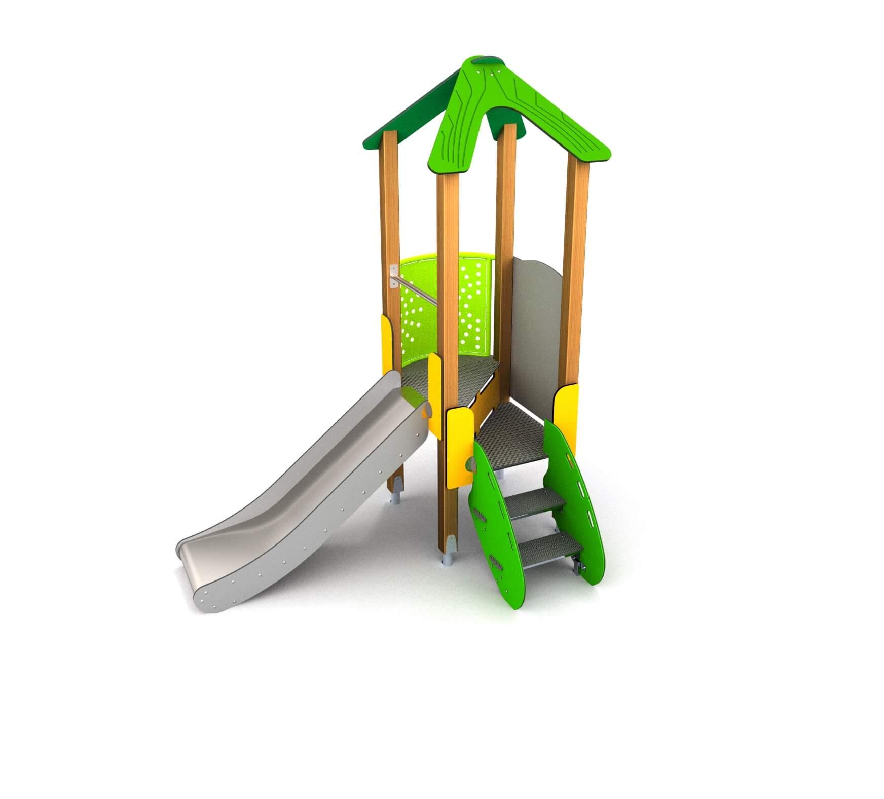 7cb6efbb1b7095 Surrey houten speeltoestel - Arkema Speelvoorzieningen