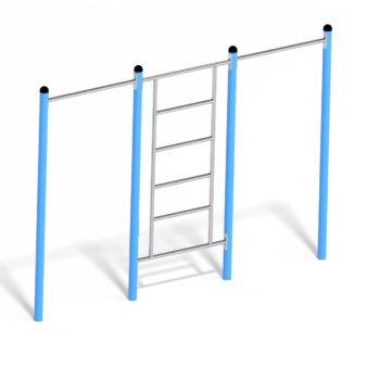 Duo pull - up bar & ladder Metaal Calisthenics 7692.