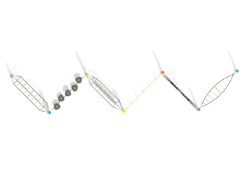 9074 Azure metalen klimtoestel (1)