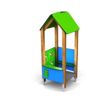 Speelhuisje hout Facile 8917.