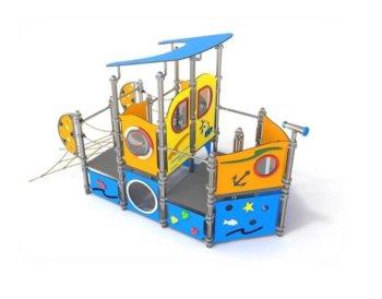 4076 Nemo RVS speelboot