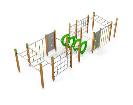 8054 Apenkooi houten speeltoestel