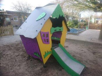 Lillyslide speelhuisje met glijbaan 7030