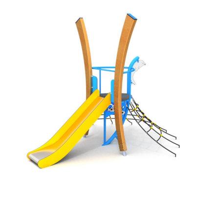 8076 Marmaris houten speeltoestel