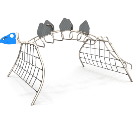 8501 Stegosaurus RVS klimtoestel