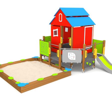 8079 Phoenix houten speeltoestel