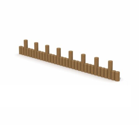 Asterix houten evenwichtspaaltjes