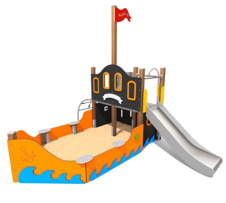 8001 Piratenboot