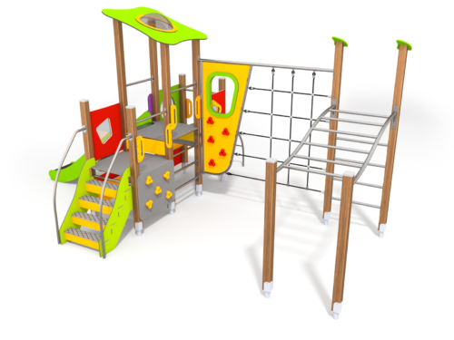 8906 Wildwood houten speeltoestel (2)
