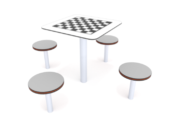 2017 Picknickset met schaakbord
