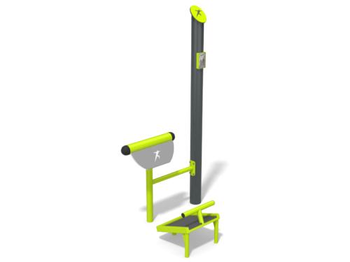7808 Fitness metaal