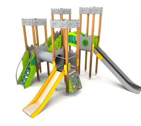 8055 Benidorm houten speeltoestel