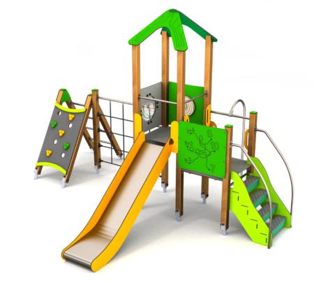 8065 Benidorm houten speeltoestel