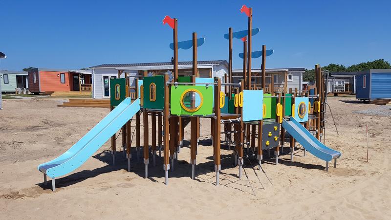 Dory houten speeltoestel
