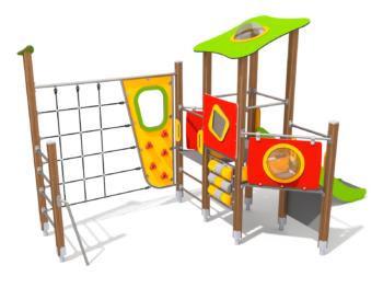 8903 Eastwood houten speeltoestel