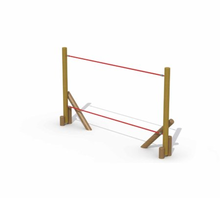 Zorro houten touwbrug