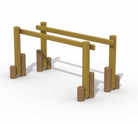 Lancelot houten toestel