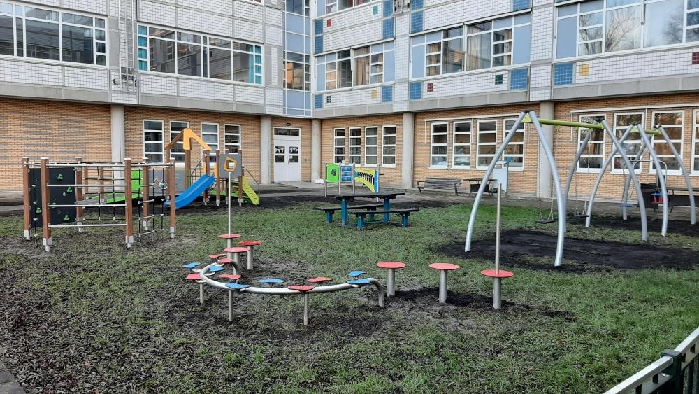 Overzicht speeltuin Rotterdam