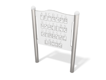 4122 spelpaneel Braille
