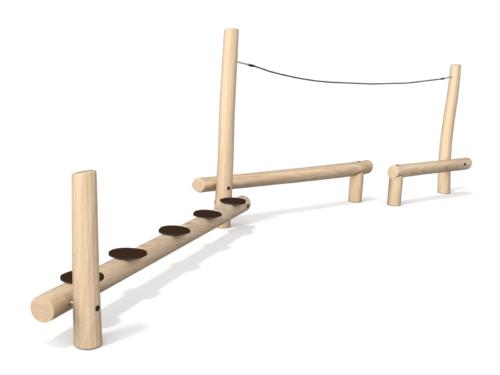 8117 Robinia evenwichtsparcours