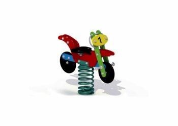 Veerfiguur Motorfiets