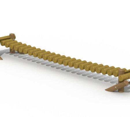 Wiebelbrug rondhout