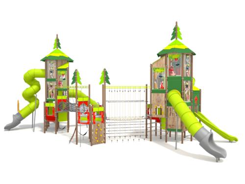 1404 Forest metalen speeltoestel
