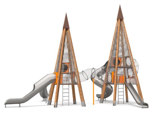 1422 Khalifa houten speeltoestel