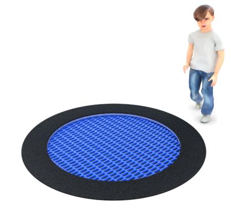 4089 Inground trampoline rond