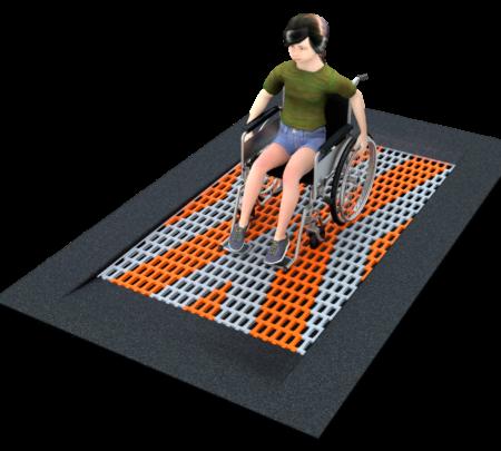4090 Inground trampoline rechthoek