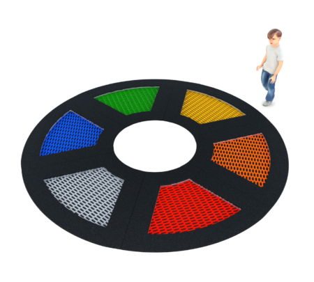 4093 Inground trampoline cirkel 6 vlakken